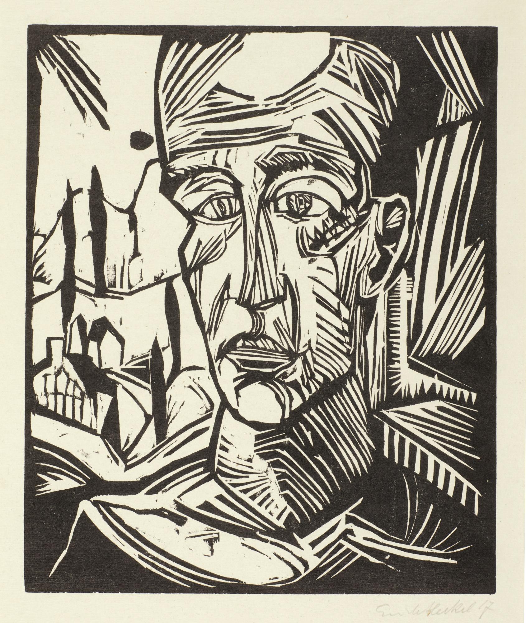 Erich Heckel-Sonnenaufgang-1914