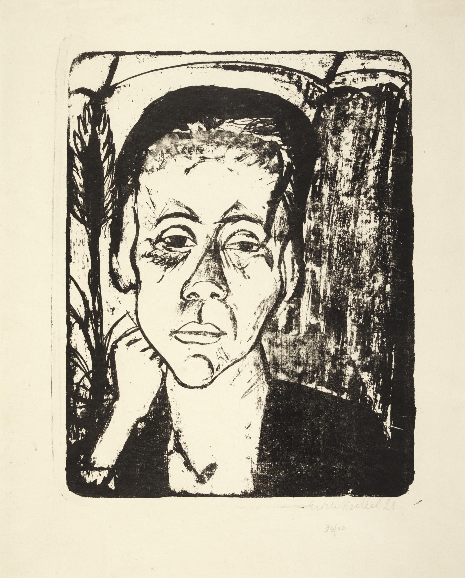 Erich Heckel-Frau-1921