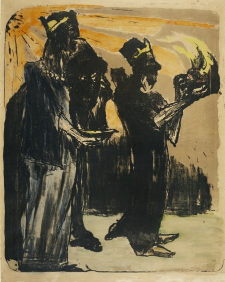 Emil Nolde-Die Heiligen Drei Konige-1913