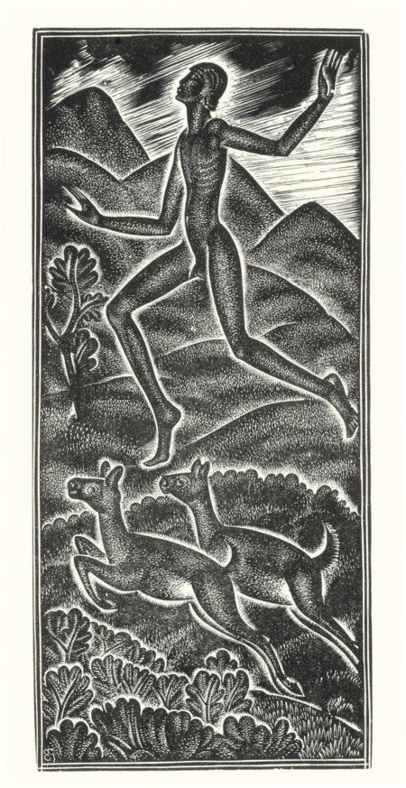 Eric Gill-Six Illustrations FromCanticum Canticorum-1930
