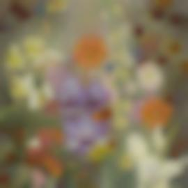 Cedric Morris-Summer Flowers In A Landscape-1927