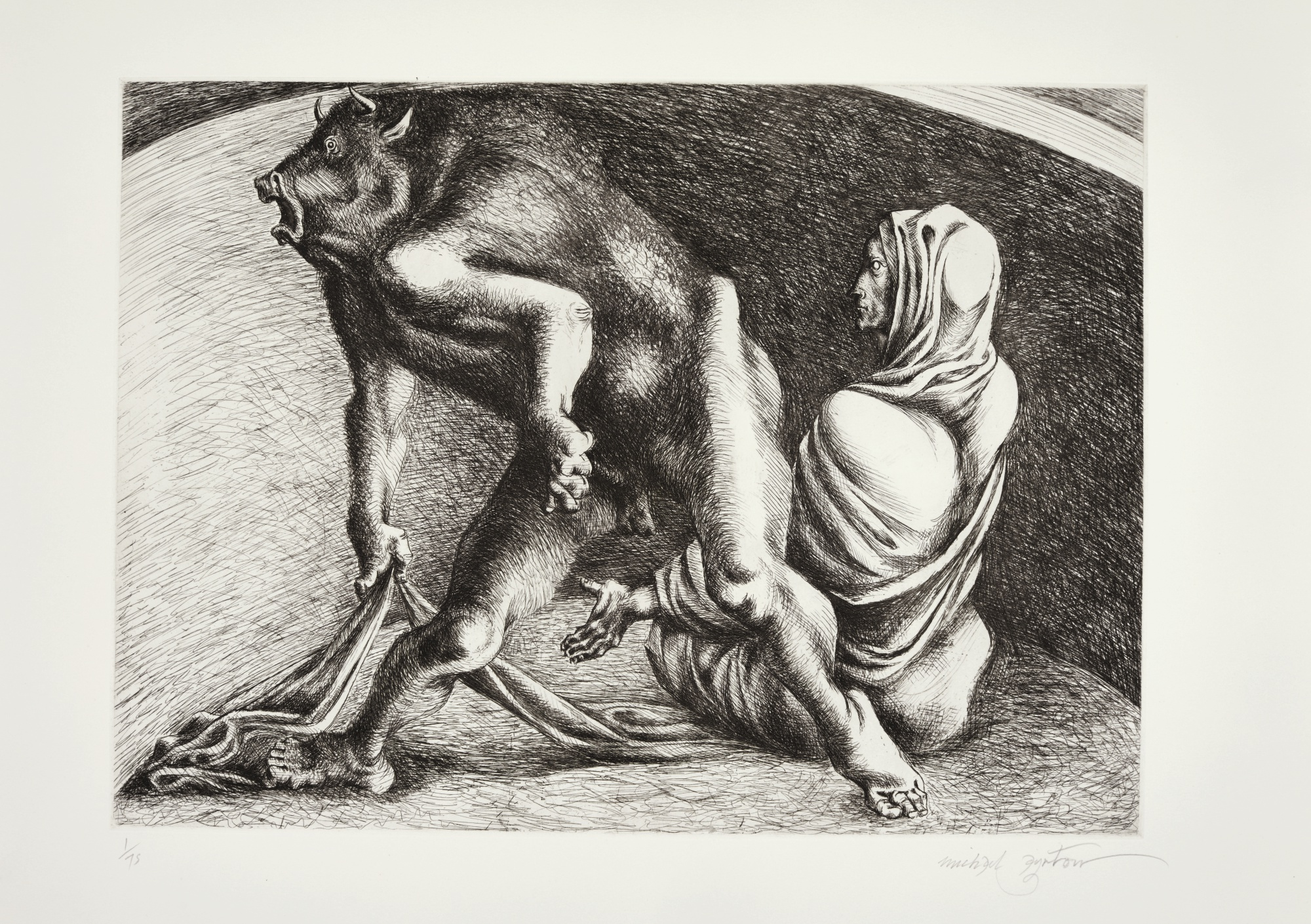 Michael Ayrton-Minotaur-1971
