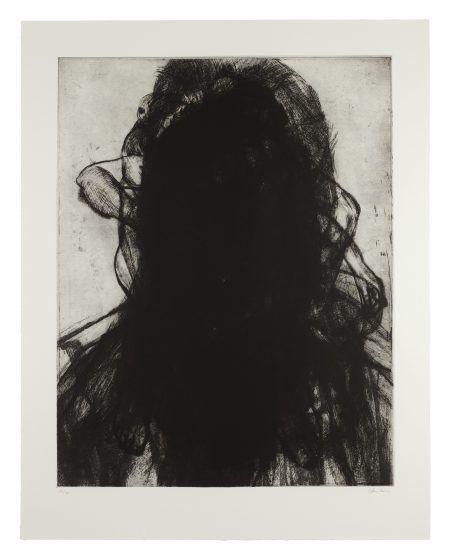 Glenn Brown-Layered Portrait (After Lucian Freud) 3-2008