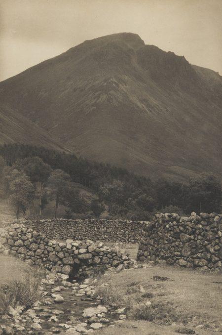 Frederick H. Evans-A Mountain Shoulder Vers-1910