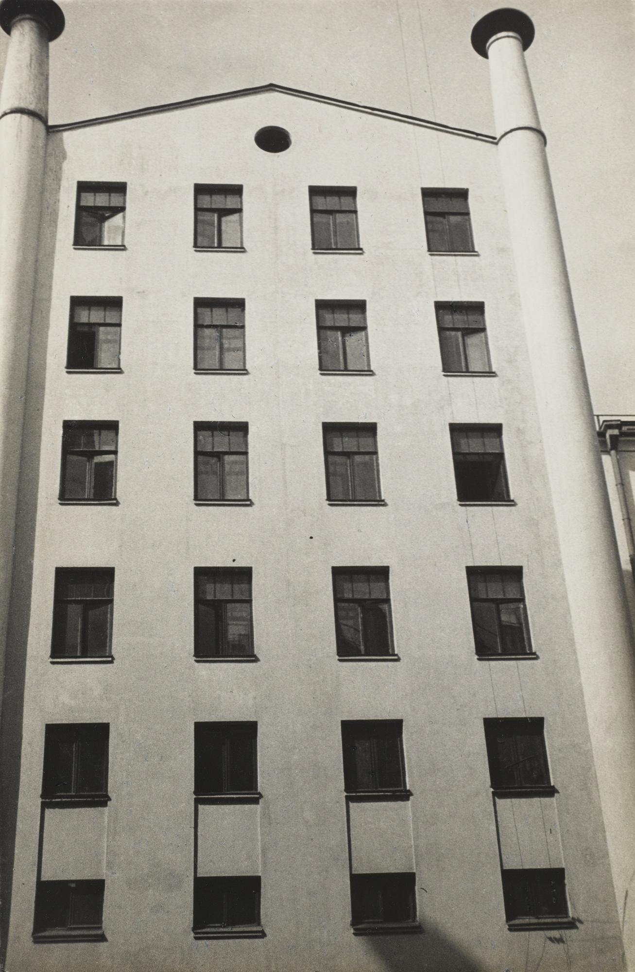 Alexander Rodchenko-New Telegraph House Moscou-1932