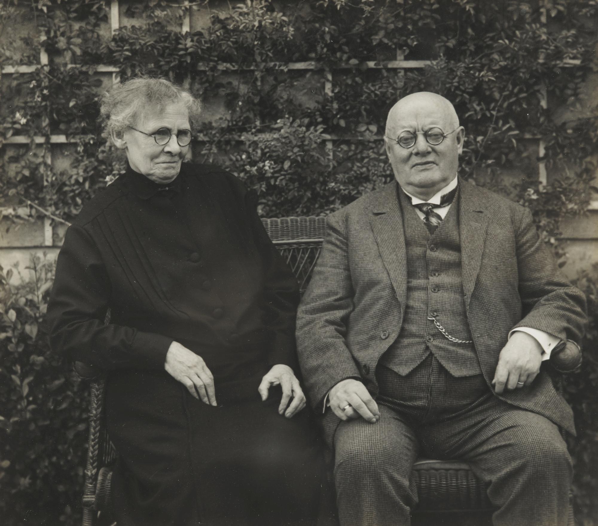 August Sander-Kleinburgerpaar Cologne-1926