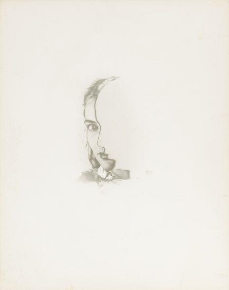 Erwin Blumenfeld-Portrait Solarise New York-1942