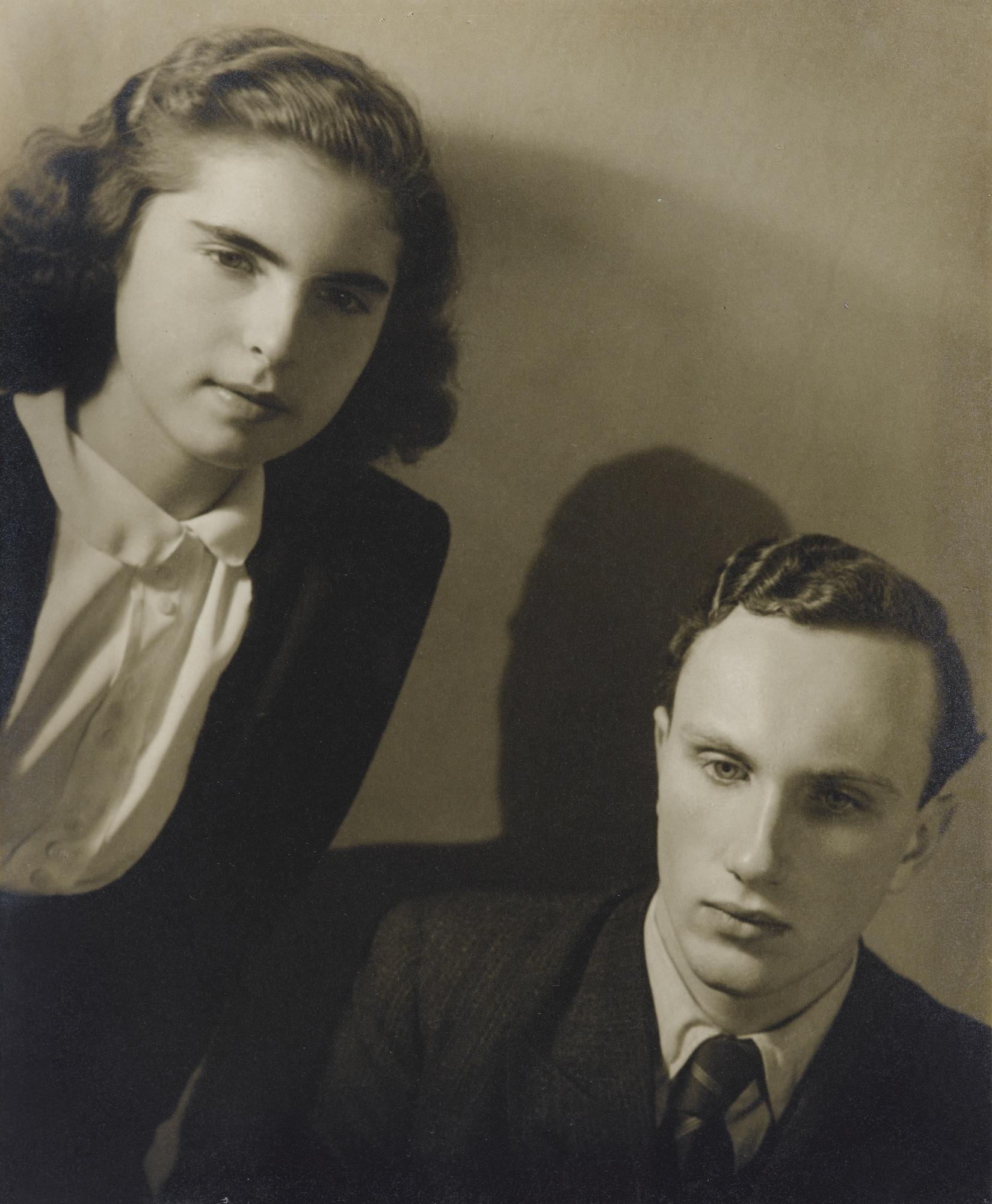 Jaromir Funke-Otokar & Jana Storch Prague-1934
