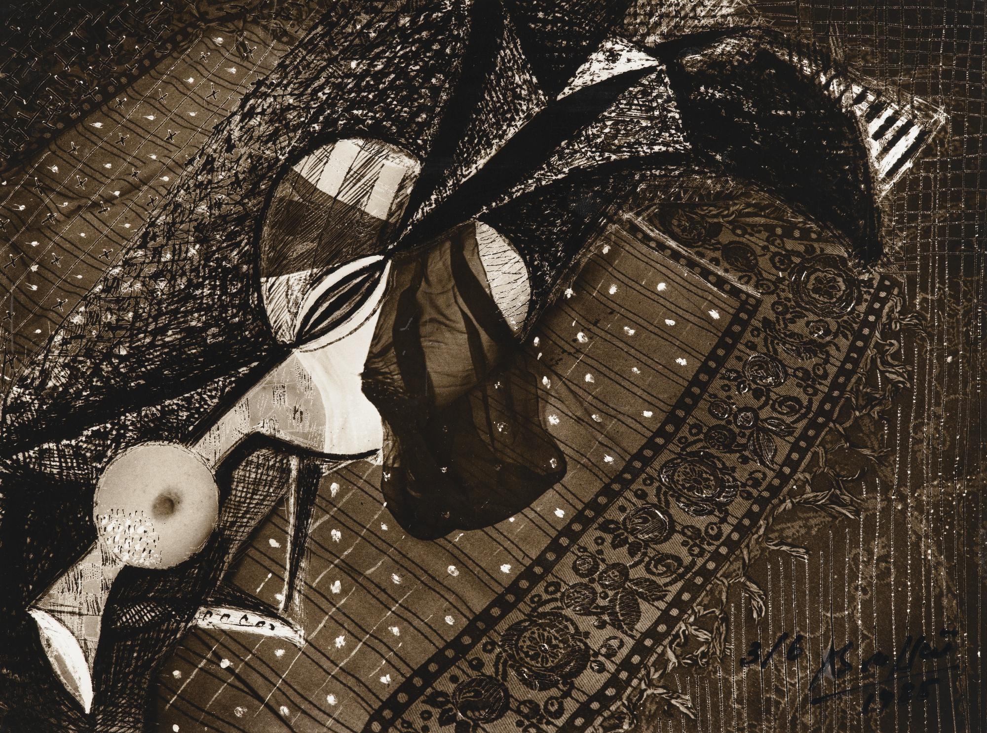 Brassai-Femme Aux Voiles Paris-1935