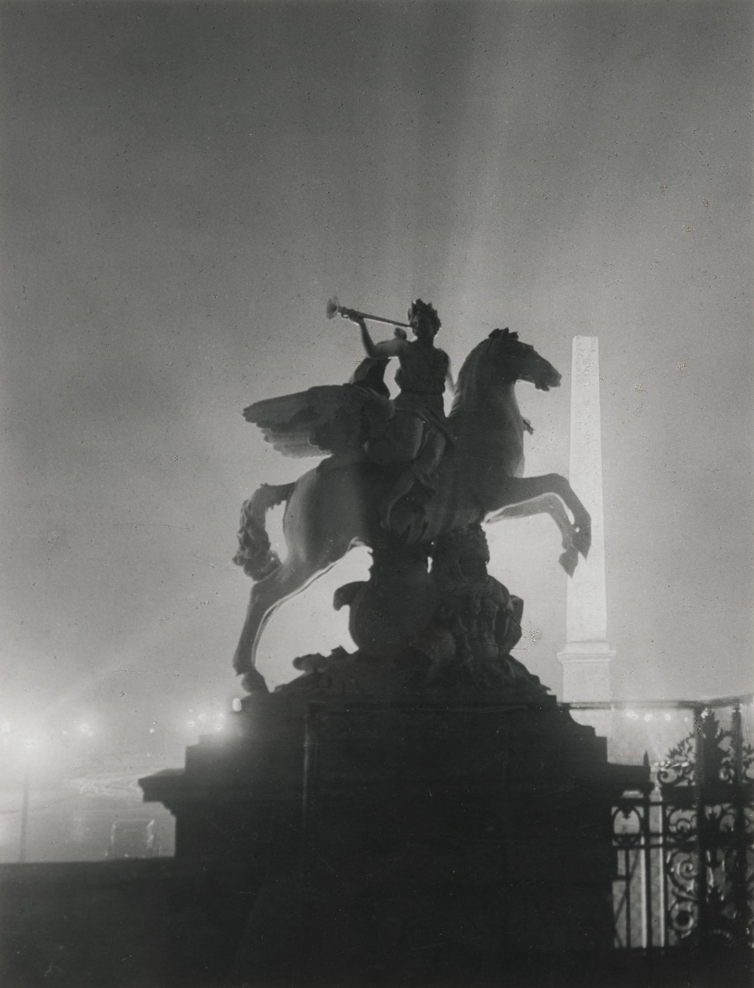 Brassai-Place De La Concorde Vers-1932