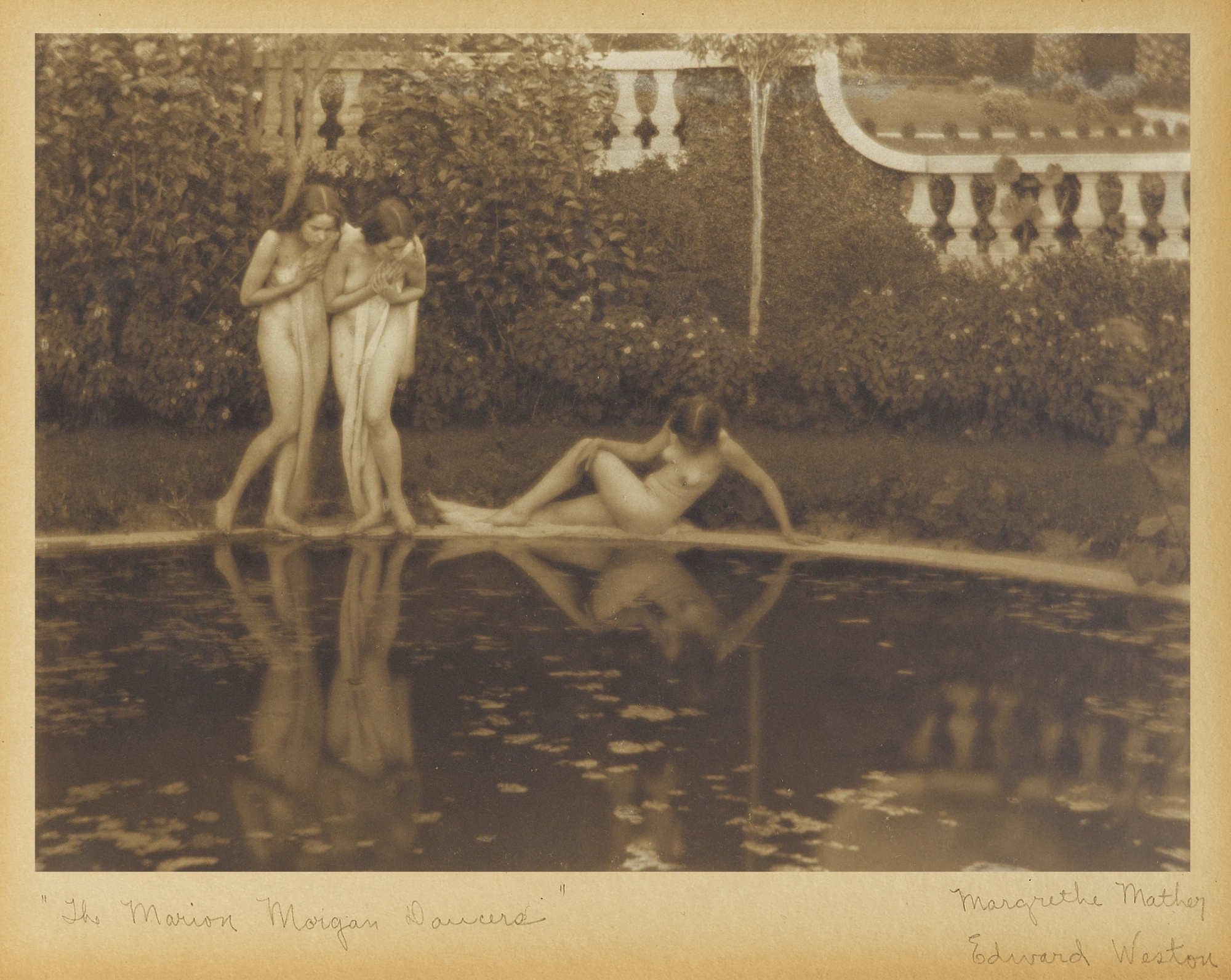 Edward Weston-The Marion Morgan Dancers California-1921
