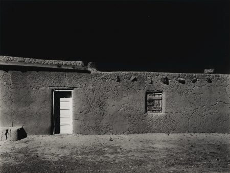 Ansel Adams-Penitente Morada Coyote New Mexico-1950