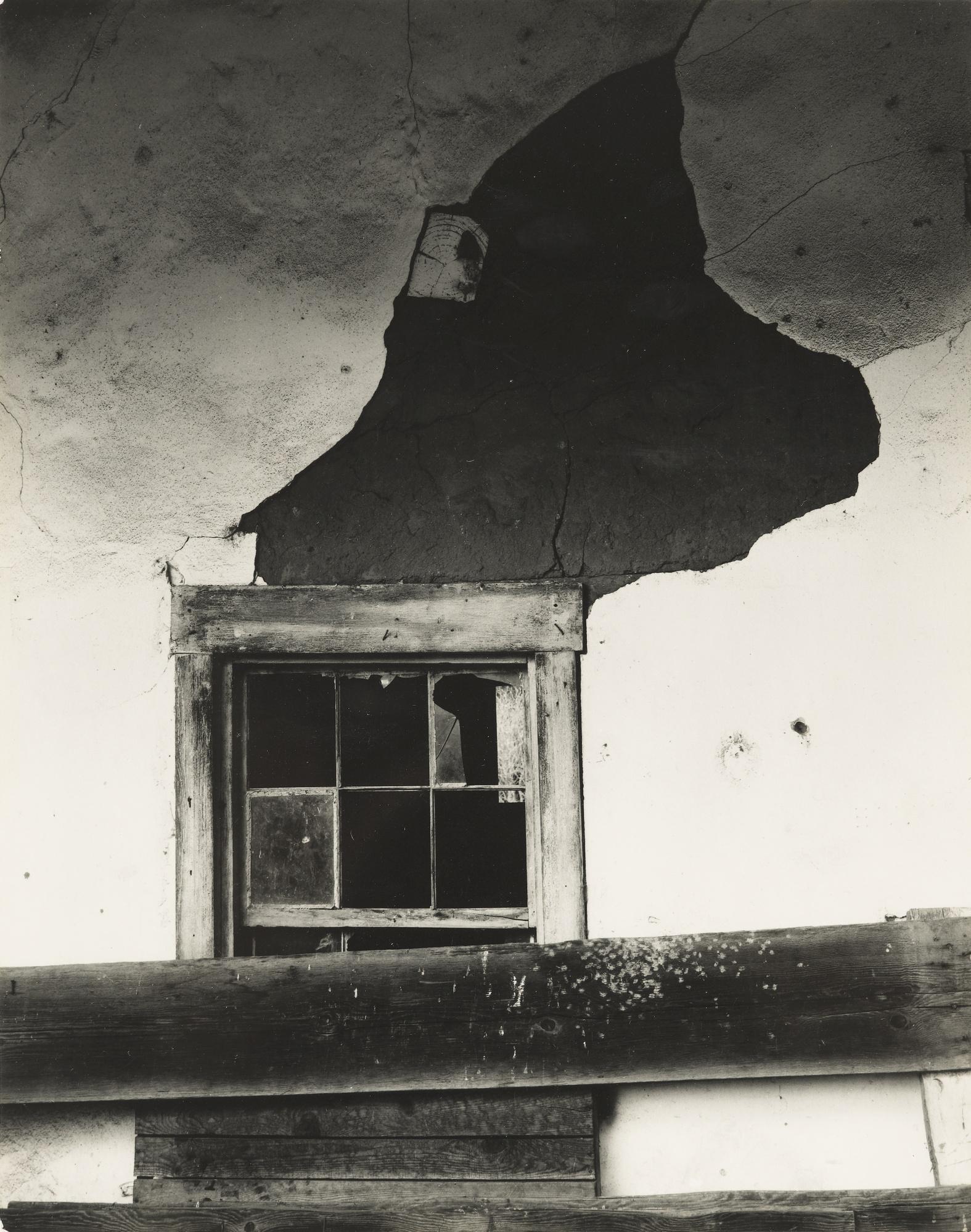 Edward Weston-Old Adobe Carmel-1934