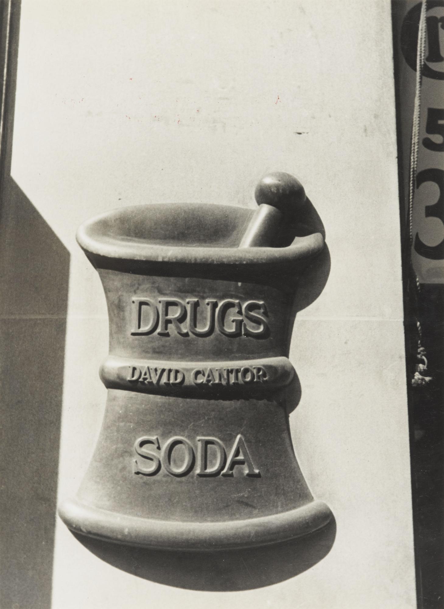 Paul Wolff-Drugs-Soda New York-1928