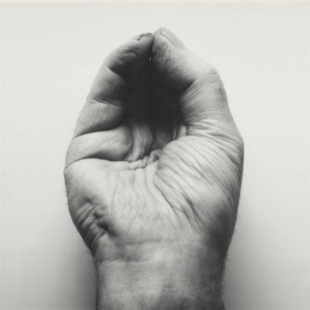 John Coplans-Self-Portrait (Front Hand, Pinched)-1988