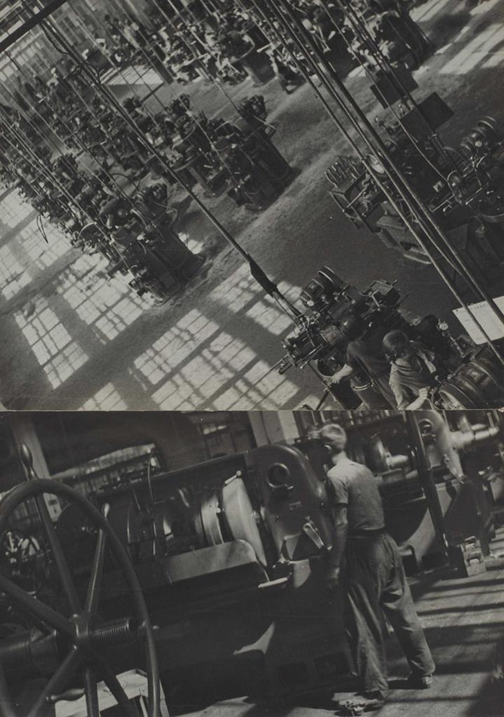 Alexander Rodchenko-Usine de roulement a billes (Ball Bearing Plant), Moscou-1932