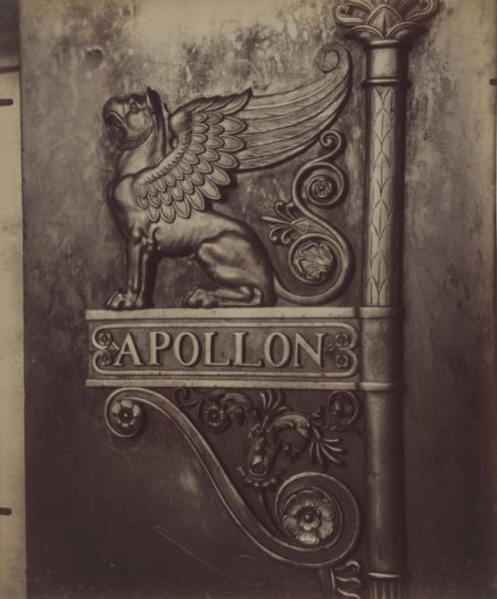 Eugene Atget-Galerie d'Apollon, Musee du Louvre-1914