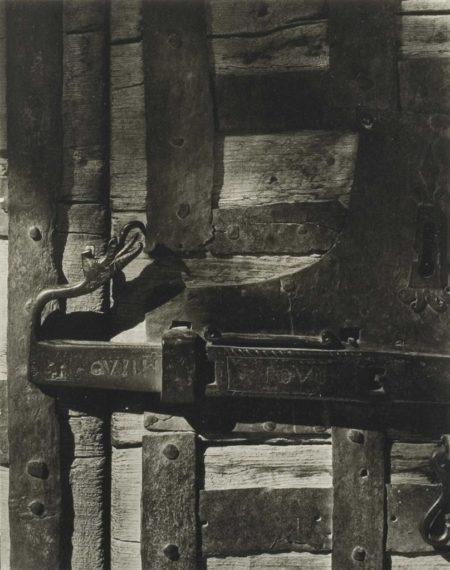 Paul Strand-Verrou, l'Argentiere, France-1950
