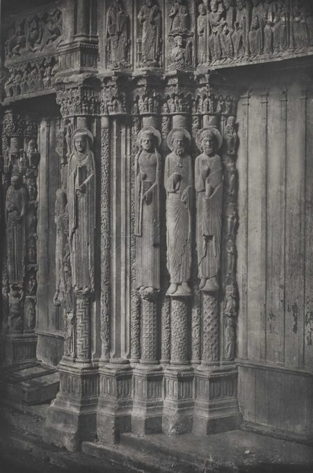Charles Negre-Cathedrale de Chartres, Porche Royal-1857