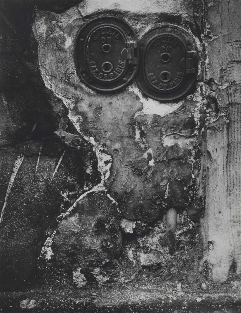 Brassai-Bouches de gaz (le couple), Graffiti, serie VIII 'La Magie'-1930