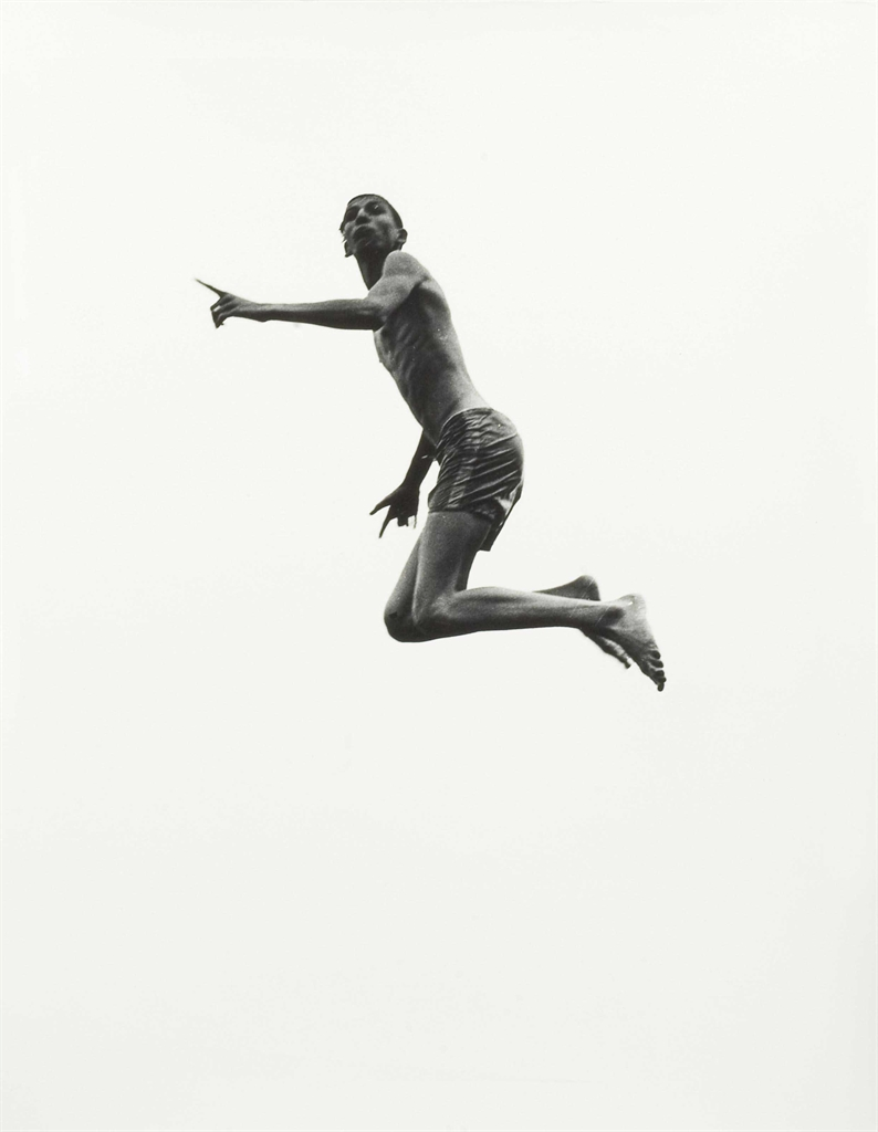 Aaron Siskind-Pleasures and Terrors of Levitation #55-1956