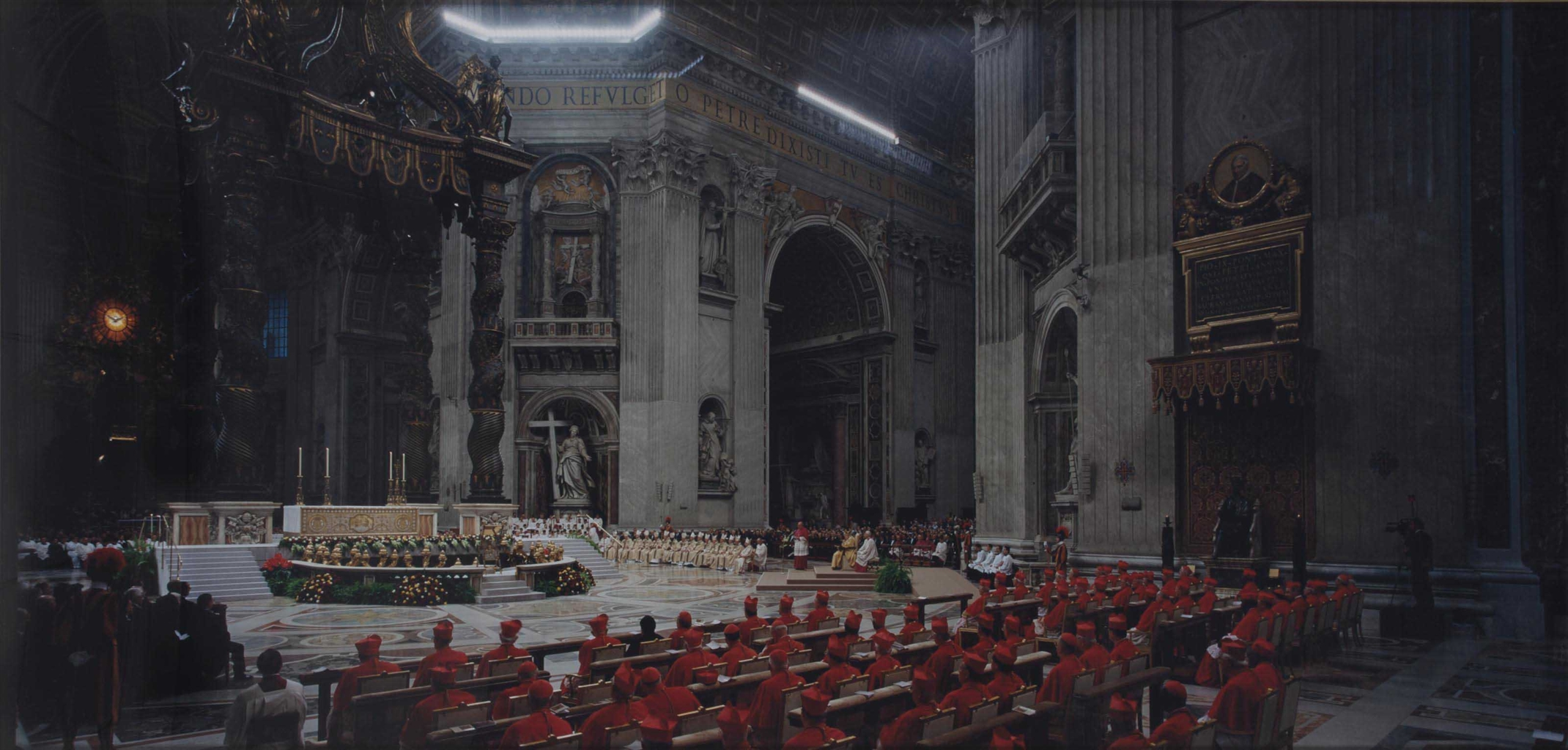 Luc Delahaye-Ordinary Public Consistory, Basilique Saint-Pierre, Vatican-2013