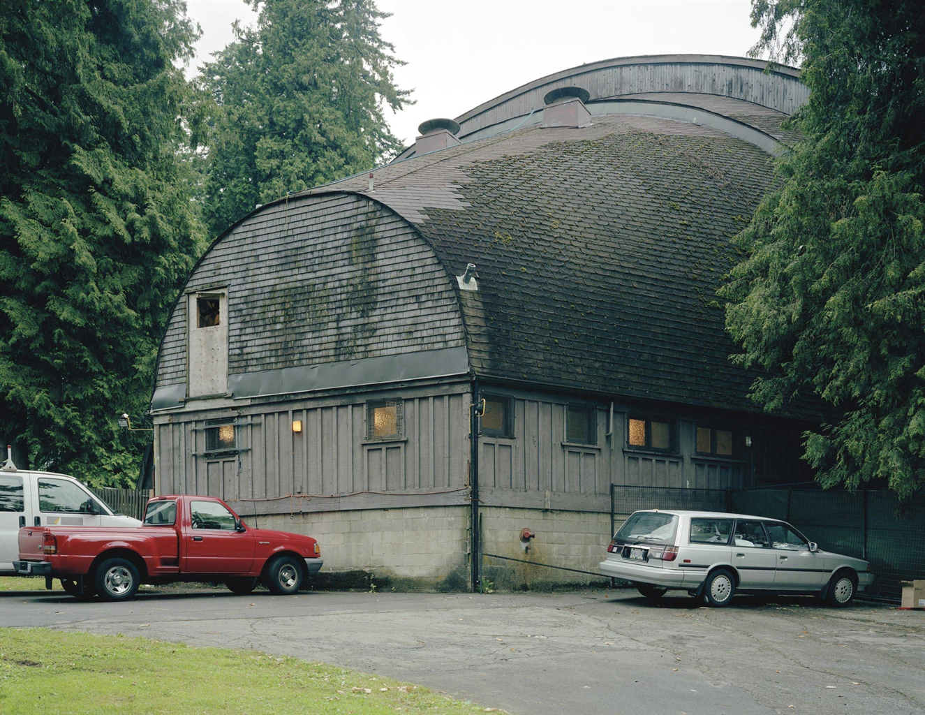 Jeff Wall-Rear view, open air theatre, Vancouver-2005