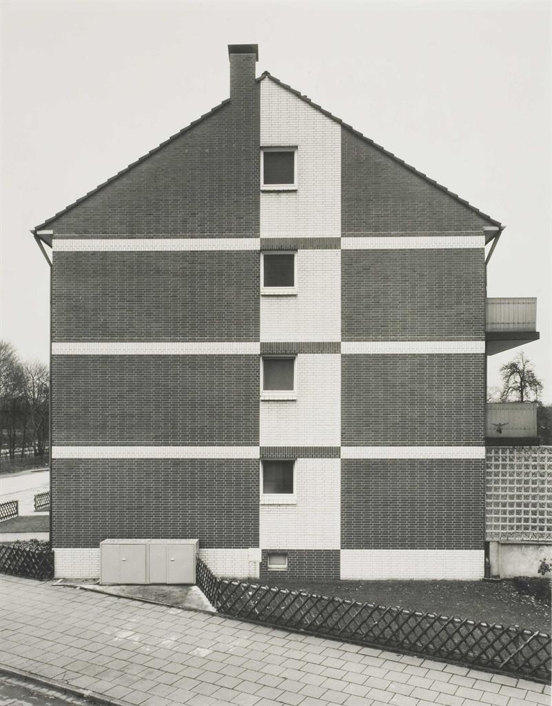 Bernd and Hilla Becher-Haus II, Duisburg, Ruhrgebiet-1976