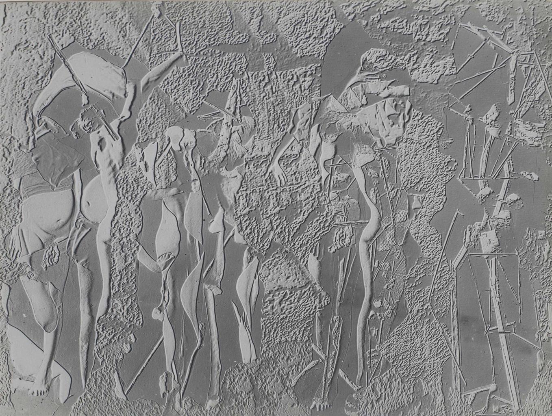 Raoul Ubac-Le combat III, Relief-1937
