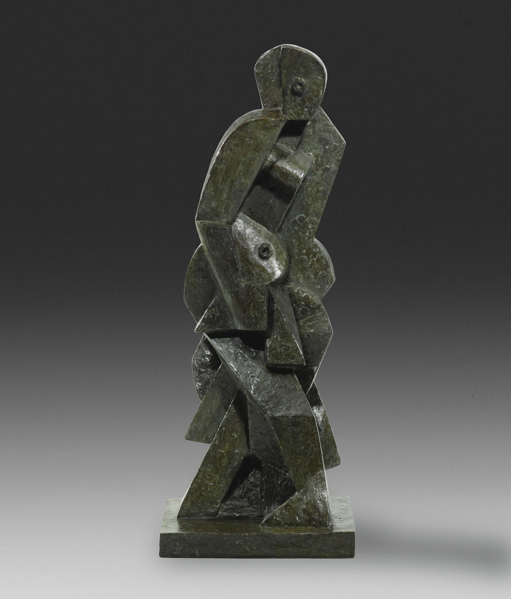 Jacques Lipchitz-Baigneuse-1917