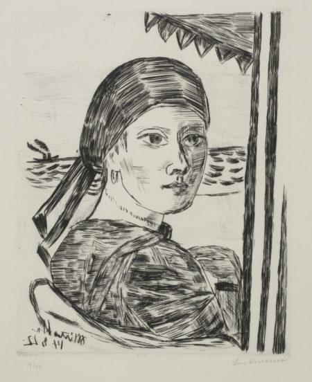 Max Beckmann-Minette (Hofmaier 238 VI, B)-1922