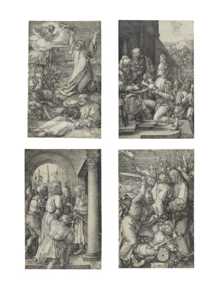 Albrecht Durer-Four plates from the Engraved Passion (Bartsch 4,5,7,11)-1512