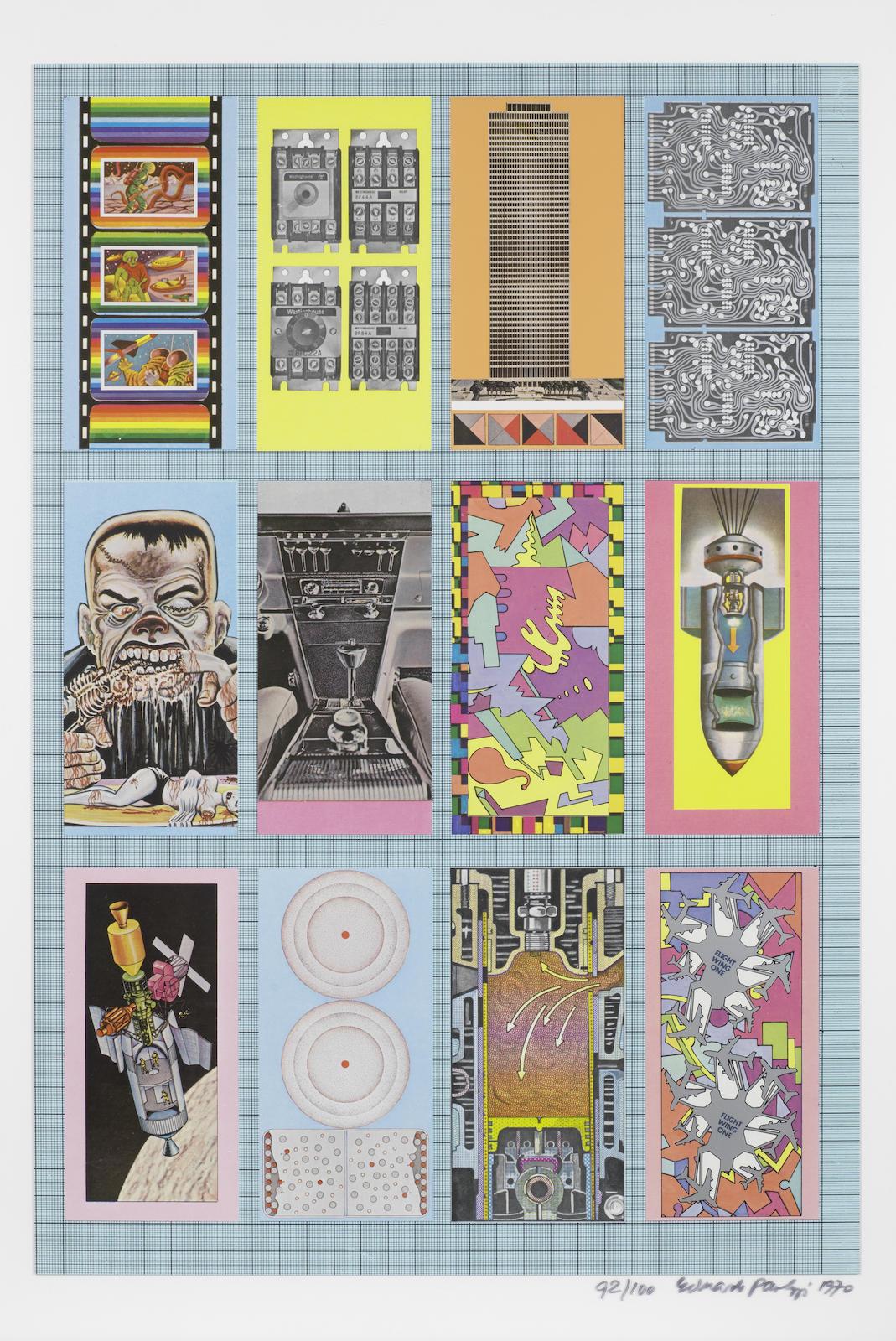 Eduardo Paolozzi-Zero Energy Experimental Pile (Miles 57-62)-1970