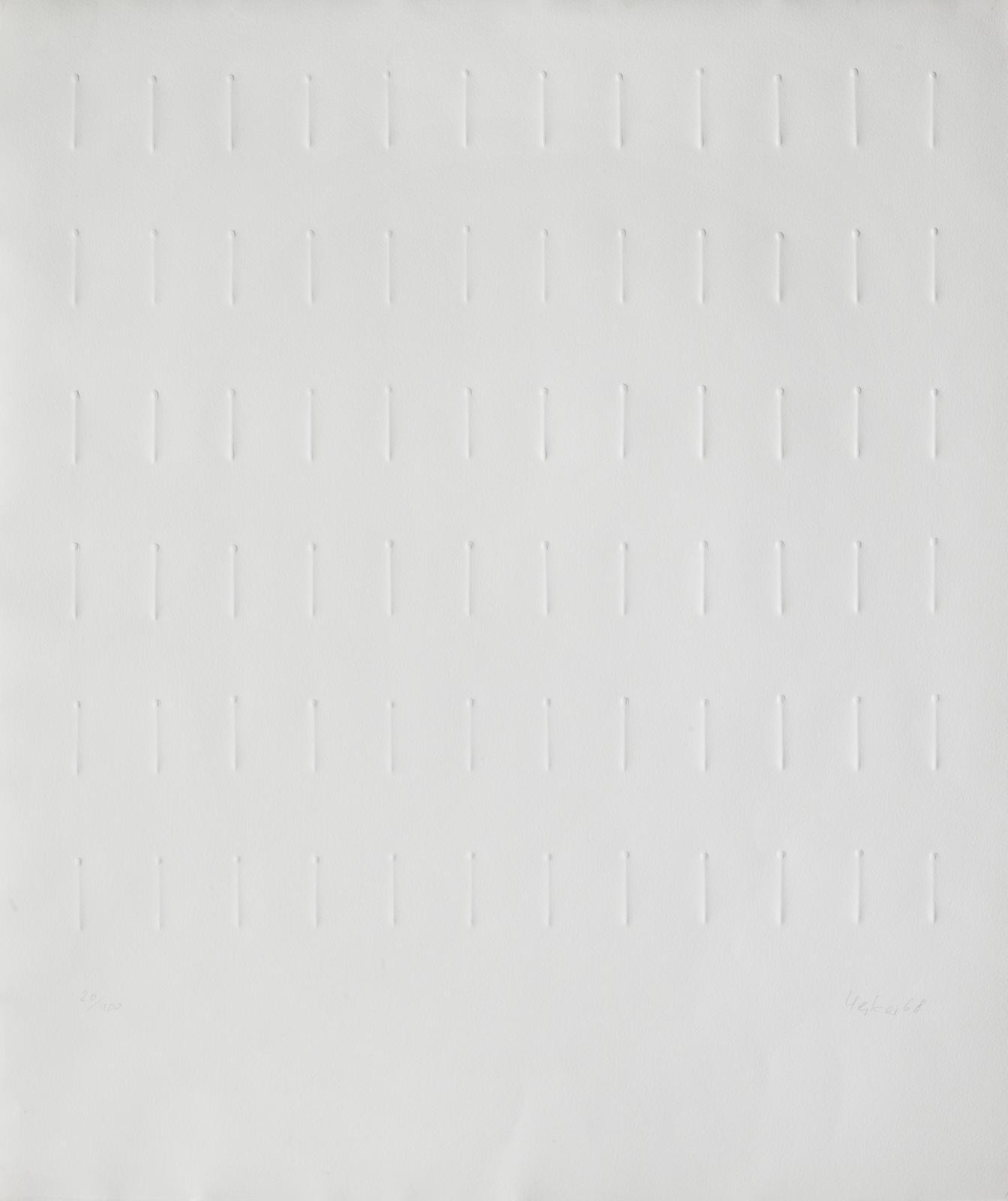 Gunther Uecker-Untitled-1968
