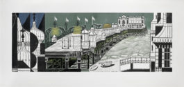 Edward Bawden-Brighton Pier - Second Edition (Greenwood 51)-1977