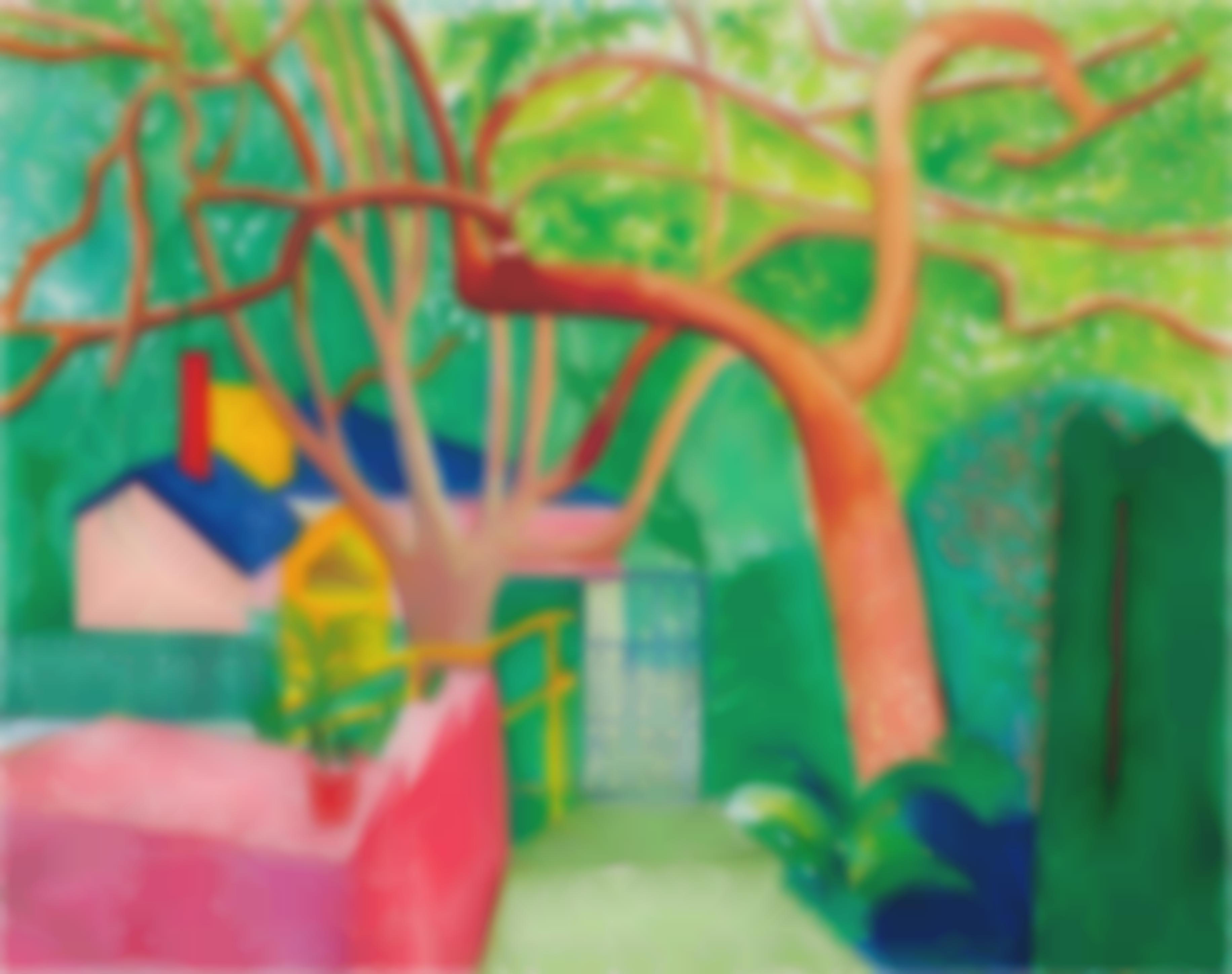 David Hockney-The Gate-2000