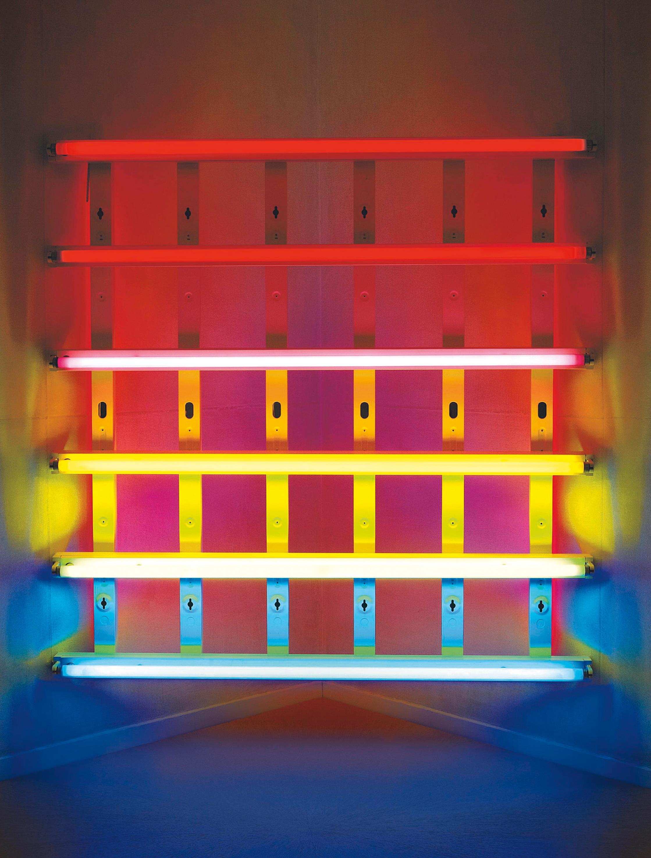 Dan Flavin-Untitled (for Leo Castelli at his gallery's 30th anniversary) 3-1989