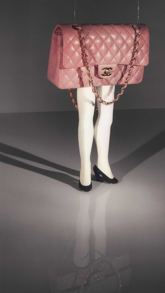Laurie Simmons-Walking Chanel Purse-2005