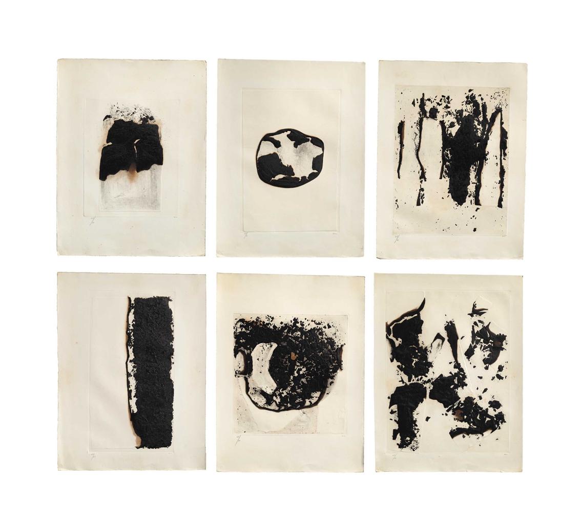 Alberto Burri-Combustione 1-6-1965