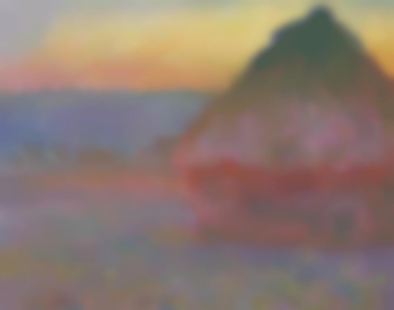 Claude Monet-Meule-1891