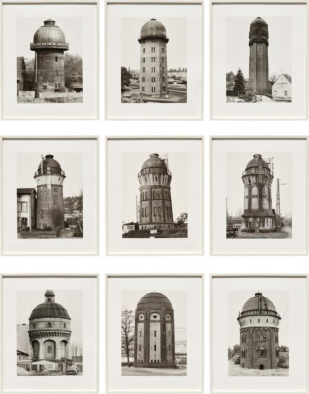 Bernd and Hilla Becher-Water Towers-1988
