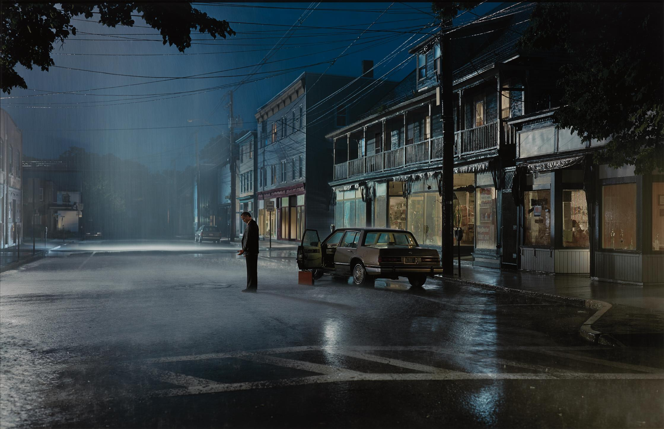 Gregory Crewdson-Untitled, Summer (Summer Rain) from the series Beneath the Roses-2004