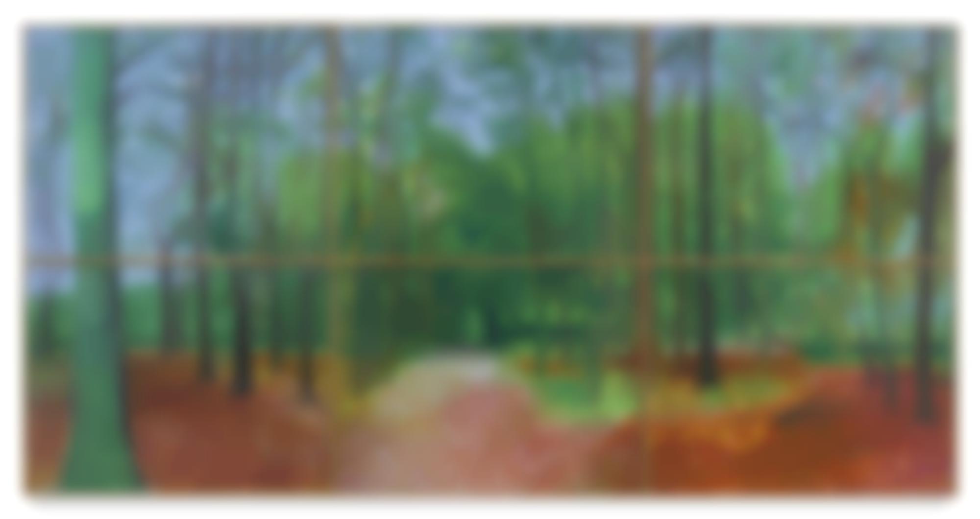 David Hockney-Woldgate Woods 24 25 And 26 October 2006-2006