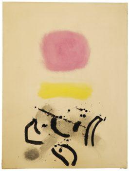 Adolph Gottlieb-Calligraphy-1970