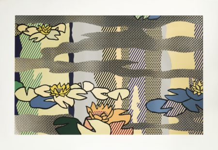 Roy Lichtenstein-Water Lily Pond With Reflections-1992