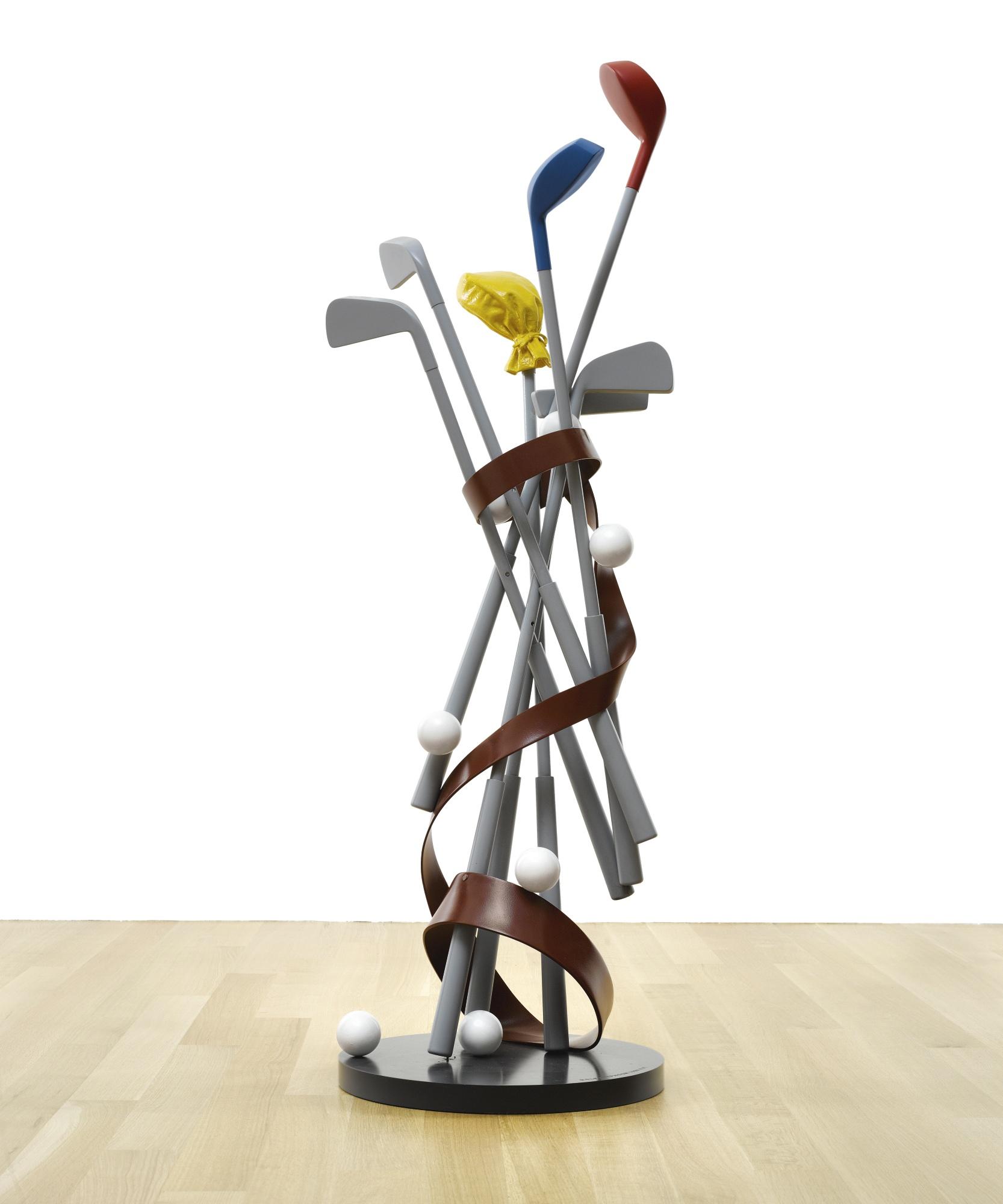 Coosje Van Bruggen-Claes Oldenburg-Golf/Typhoon-1996
