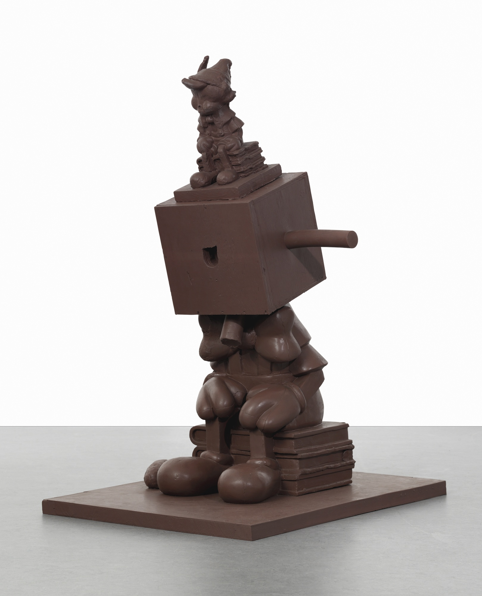 Paul McCarthy-Chocolate Silicone Blockhead-2000