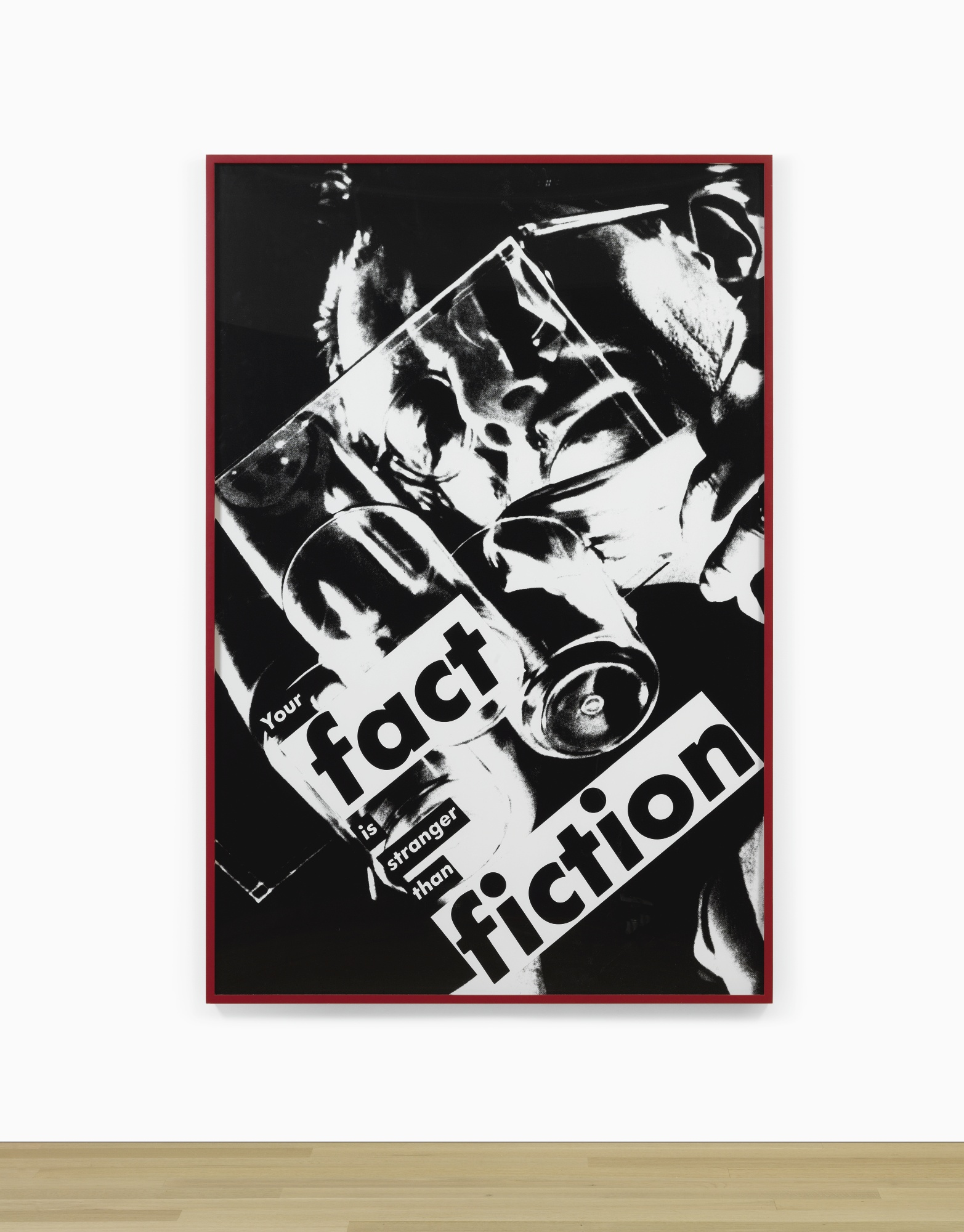 Barbara Kruger-Untitled (Your Fact Is Stranger Than Fiction)-1983