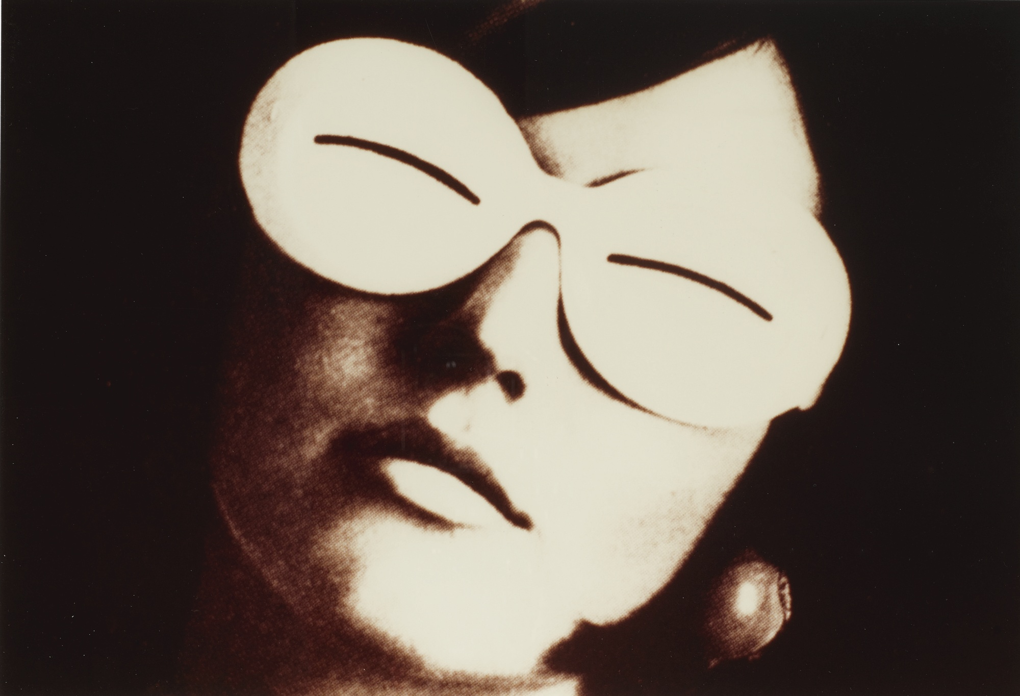 Richard Prince-Untitled (Oriental Glasses)-1982