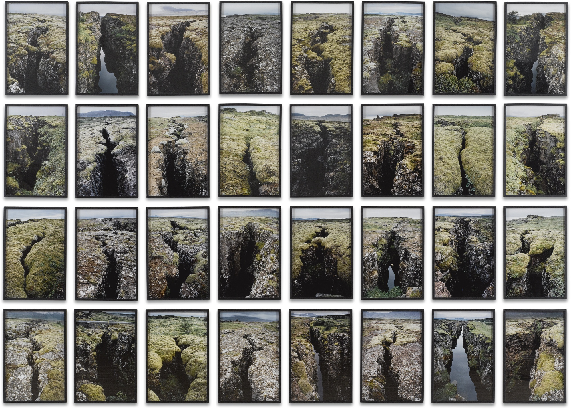 Olafur Eliasson-Fault Series-2001